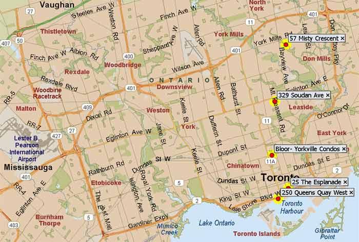 Yorkville Suites - Toronto furnished apartment rental accommodation ...