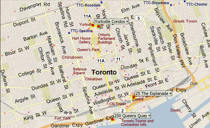 Toronto Yorkville suites furnished apartments